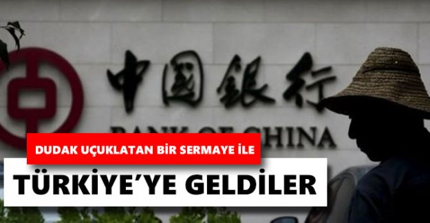 Bank of China Turkey AŞ 300 milyon dolarla Türkiye'de