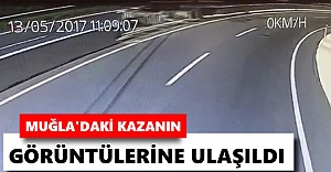 Muğla#039;daki kazanın görüntülerine...