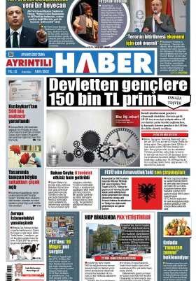 Ayrıntılı Haber - 19.05.2017 Manşeti